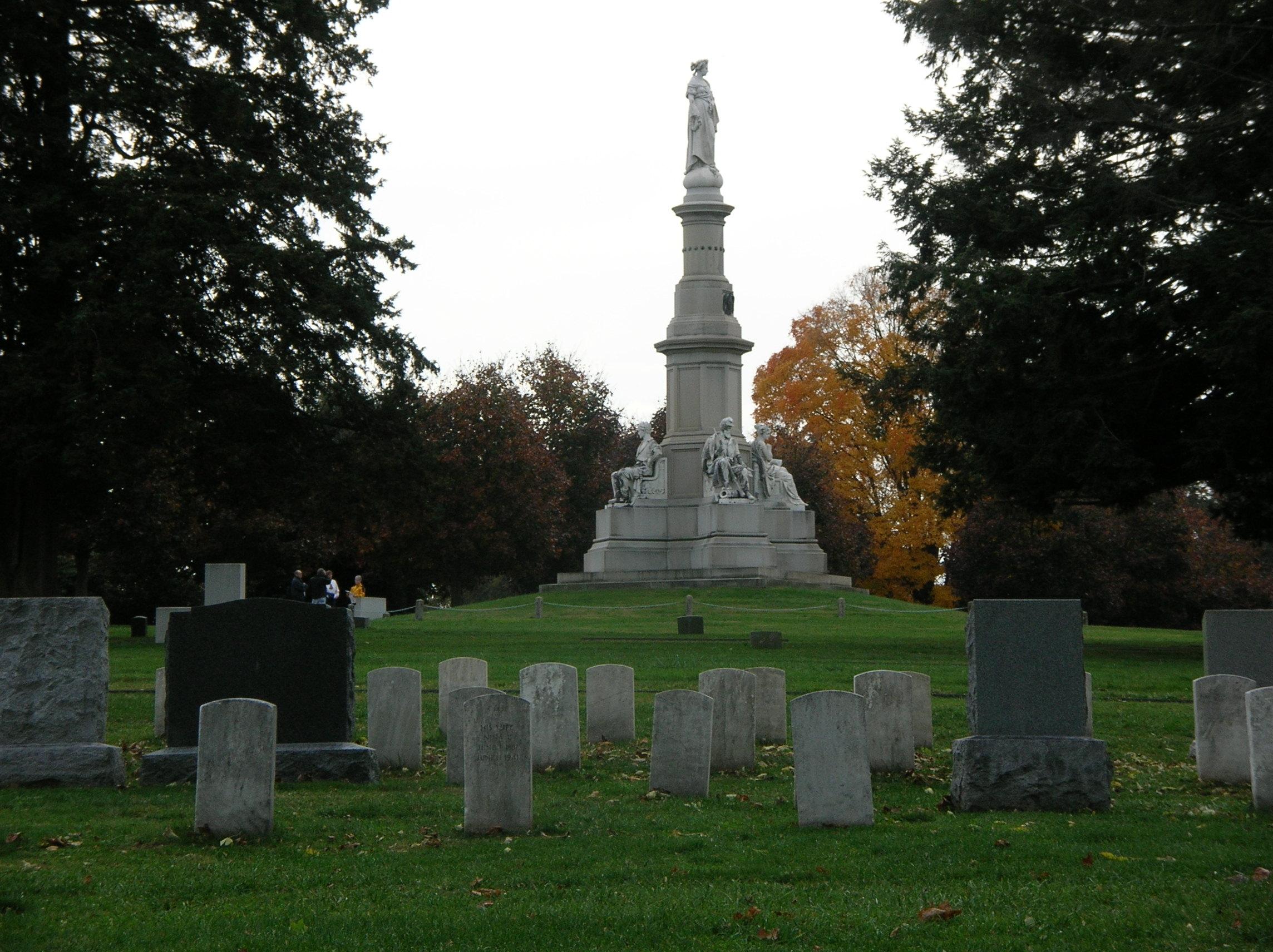 Gettysburg National Cemetery.