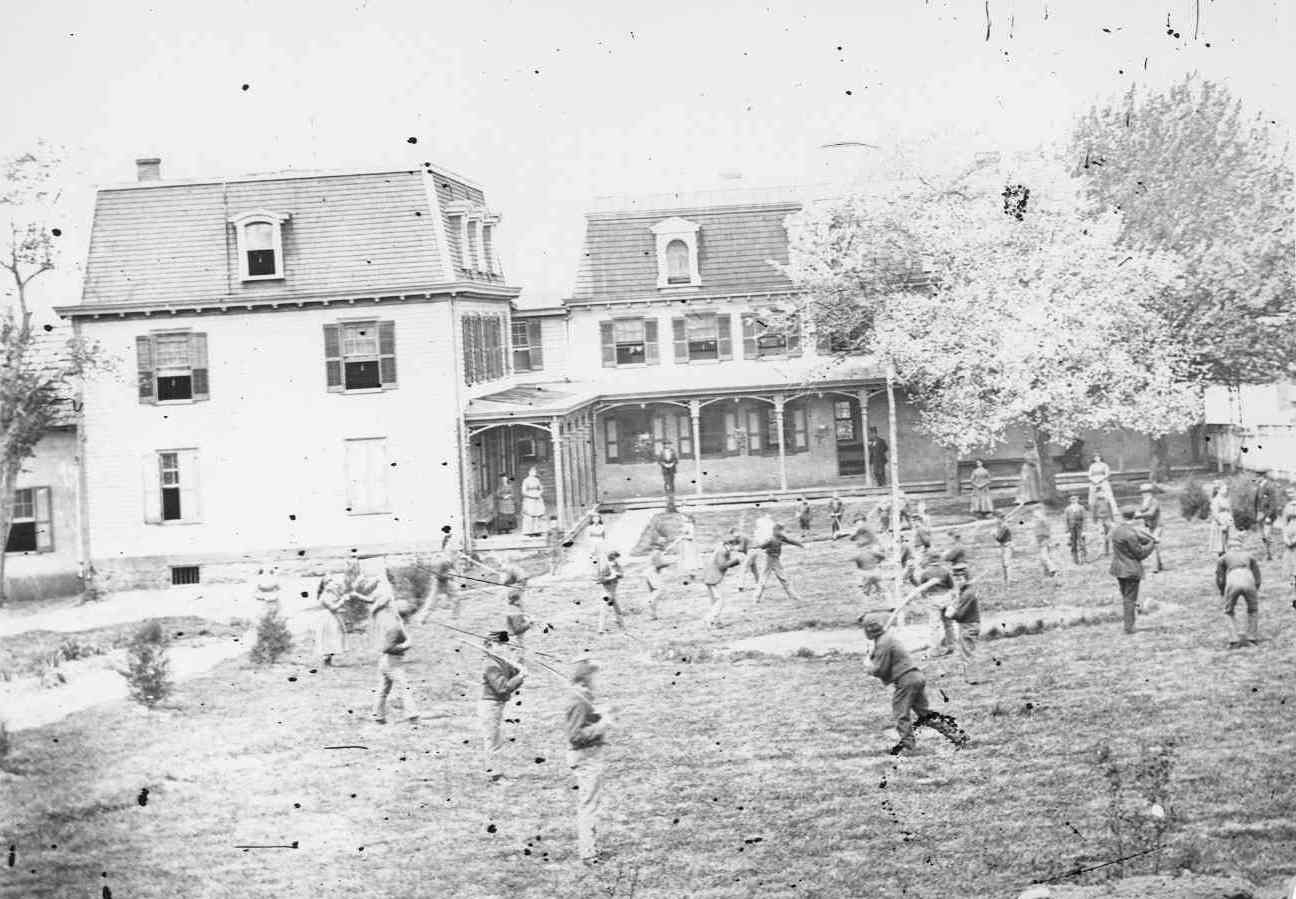 The Children's Orphanage. Hauntings in Gettysburg.