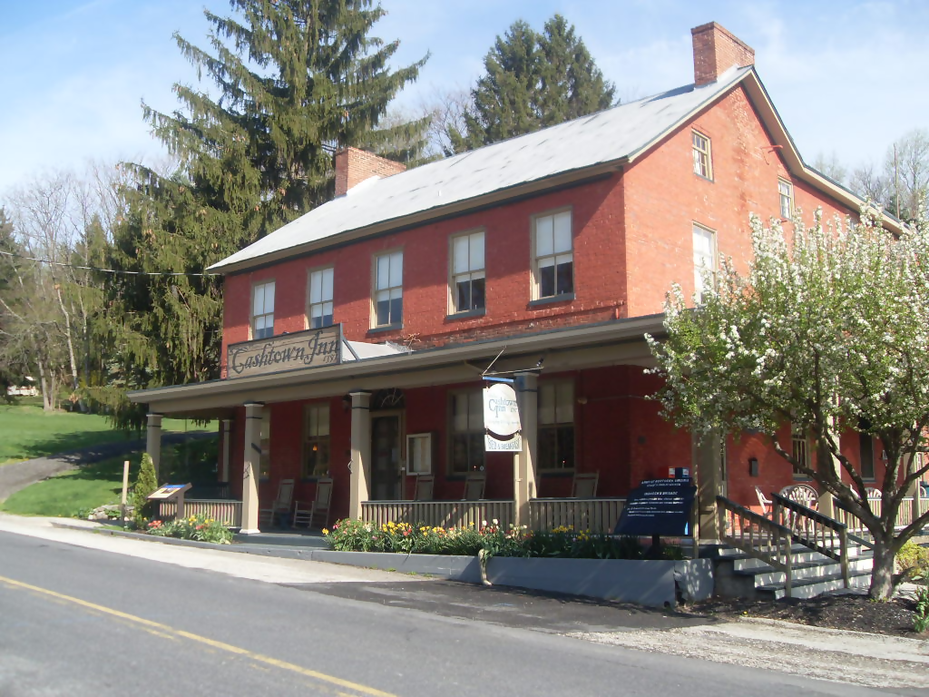 Cashtown Inn, Gettysburg. Haunted locations in Gettysburg