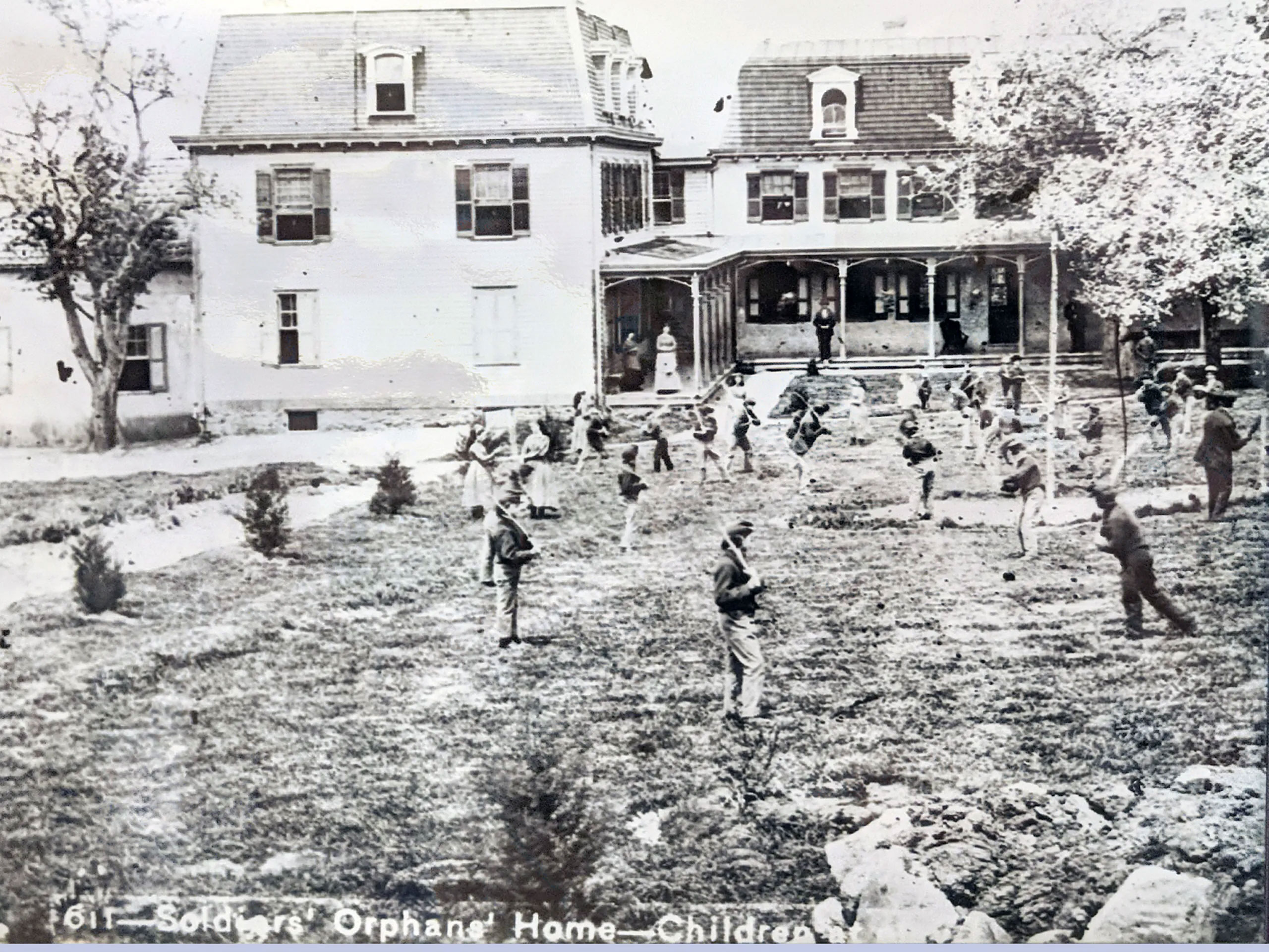 Hauntings at Children's Orphanage, Civil War Ghosts