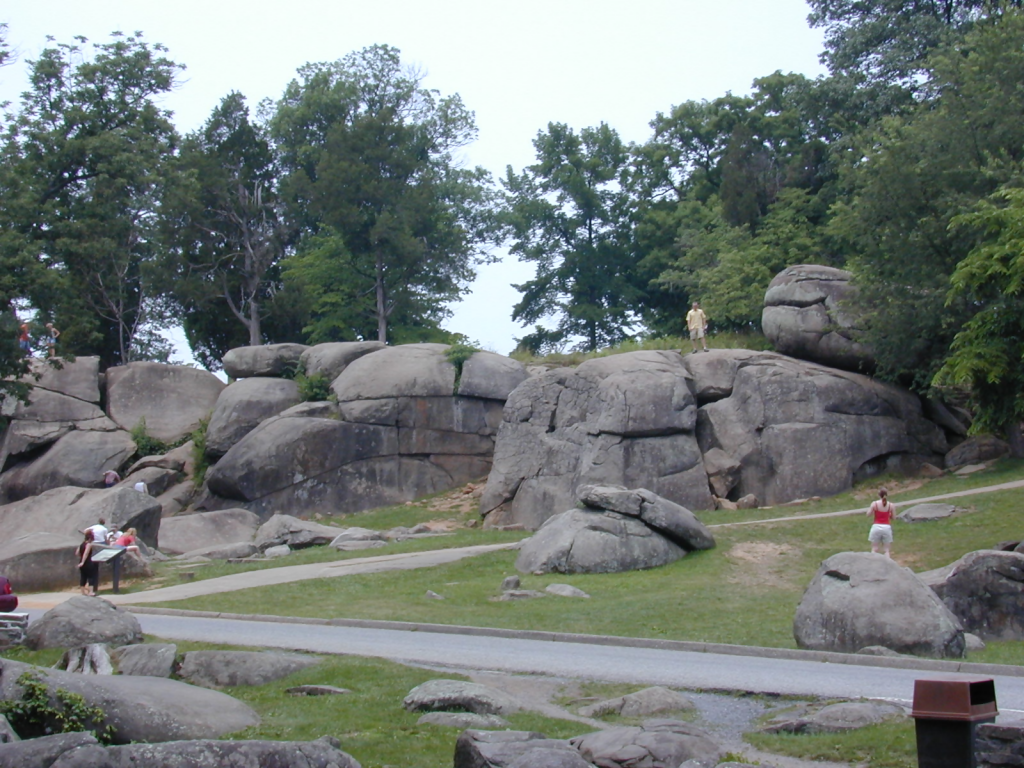 Devil's Den, Paranormal activity Gettysburg
