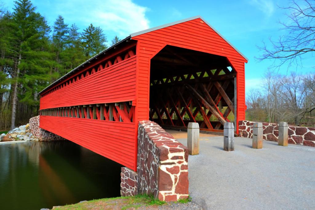 Sachs Covered Bridge, Gettysburg - Civil War Ghosts
