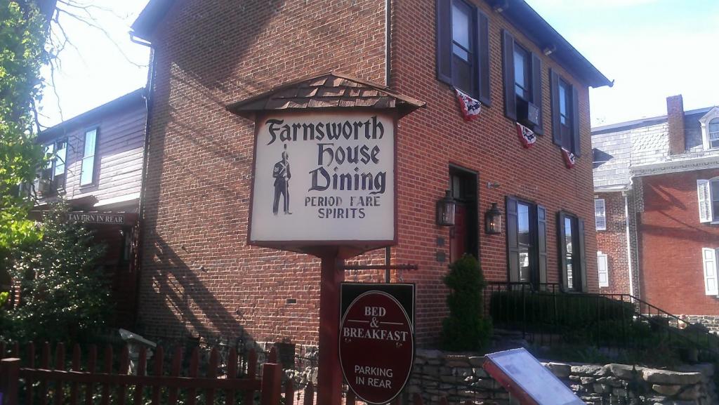 The Farnsworth House Inn - Civil War Ghosts