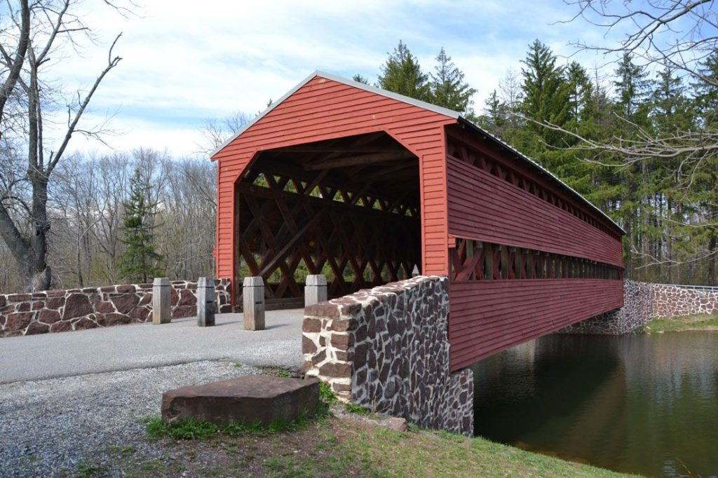 Haunted Sachs Covered Bridge, Civil War Ghosts.  Ghosts in Gettysburg