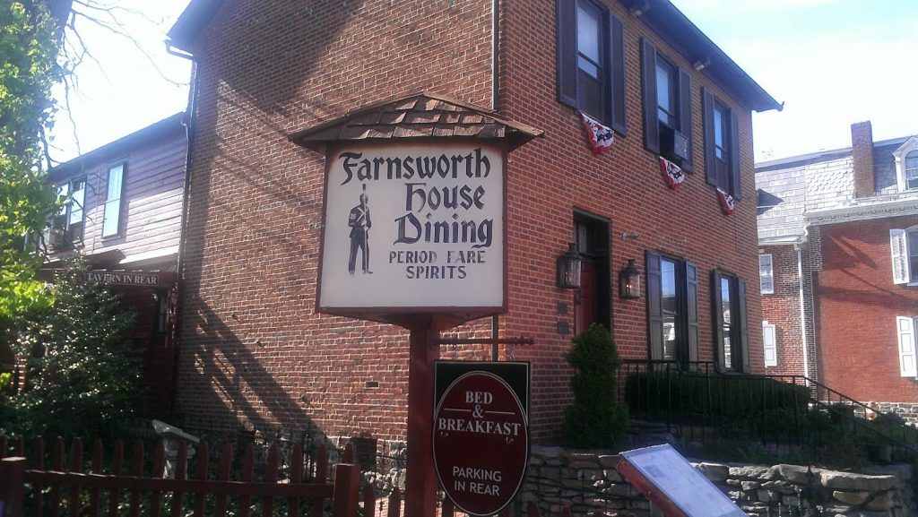 Hauntings at The Farnsworth House Inn
