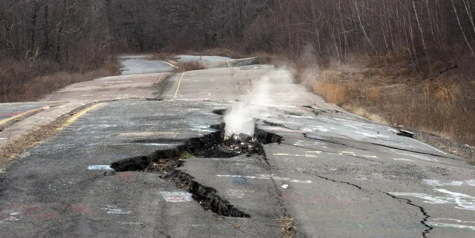 Centralia, Ghosts in Pennsylvania