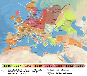 the black plague in europe