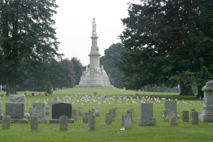 The Ghosts of the Gettysburg National Cemetery - Photo