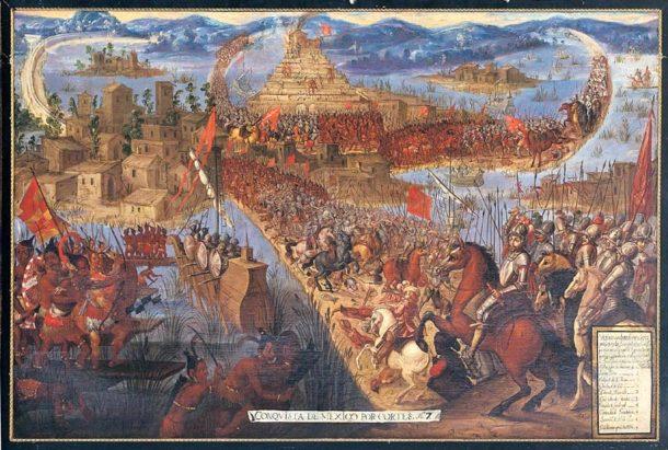 the conquest fo tenochtitla