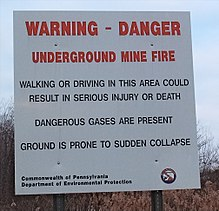 a warning danger sign