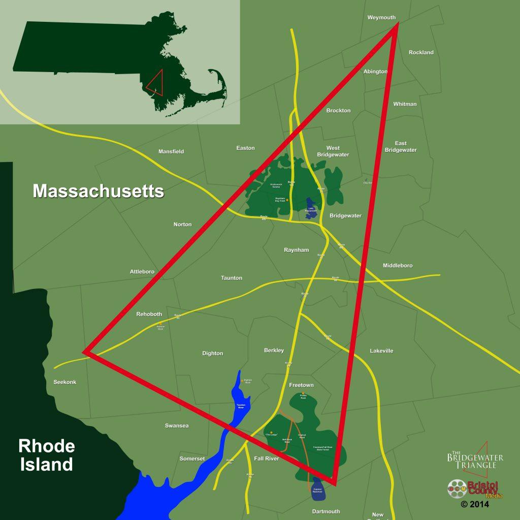 map of massachussets