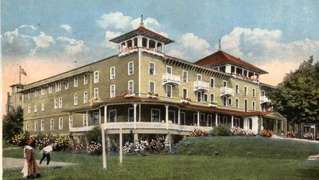 photo shows an illustration of the hotel conneaut