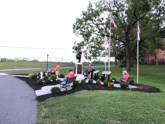 Civil War Ghosts Meeting Location